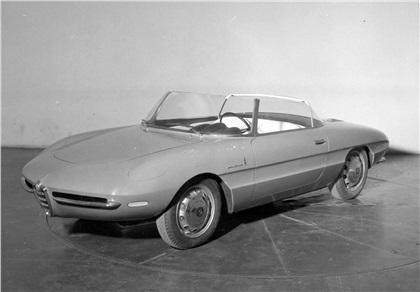 1961 Alfa Romeo Giulietta SS Spider (Pininfarina)