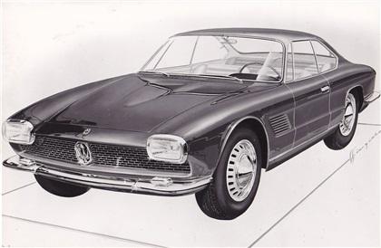 1961 Maserati 5000 GT Coupe (Bertone)