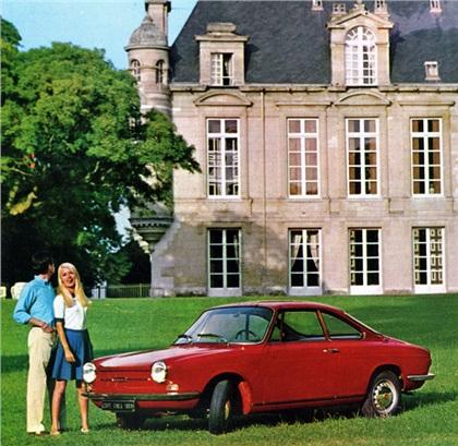 1962 Simca 1000/1200S Coupe (Bertone)