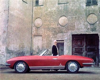 1962 Alfa Romeo 2600 Cabriolet Speciale (Pininfarina)