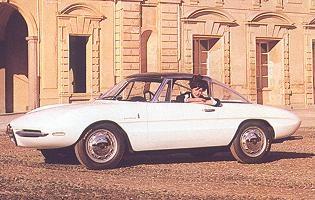 1962 Alfa Romeo Giulietta SS Coupe (Pininfarina)