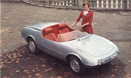 1964 Abarth 1000 Spider (Pininfarina)