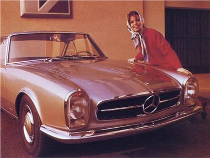 1964 mercedes benz 230 sl coupe pininfarina studios. Black Bedroom Furniture Sets. Home Design Ideas
