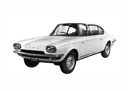 1965 Opel Kadett Coupe (Vignale)