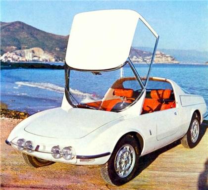 1965 Abarth 1000 Coupe Speciale (Pininfarina)