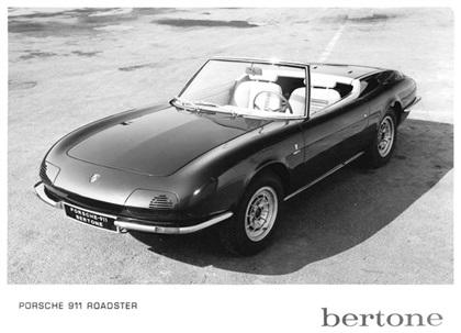 1966 Porsche 911 Roadster (Bertone)