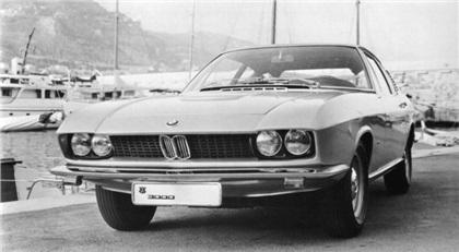1967 BMW Glas 3000 V8 Fastbackcoupe (Frua)