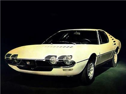 1967 Alfa Romeo Montreal Expo Prototipo (Bertone)
