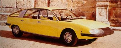1967 Pininfarina BMC-1800 Berlina-Aerodinamica
