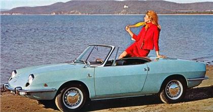1965 Fiat 850 Spider (Bertone) - Studios