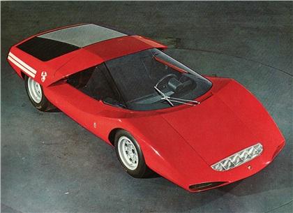 1969 Abarth 2000 (Pininfarina)