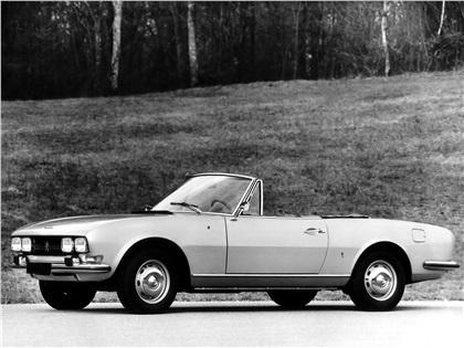 1969 Peugeot 504 Cabriolet (Pininfarina)