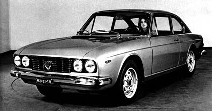 1969 Lancia Flavia 2000 Coupe (Pininfarina)