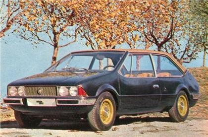1969 Fiat 128 Coupe (Bertone)