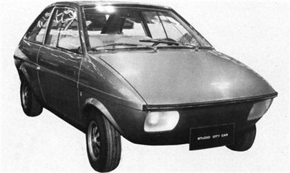 1970 DeTomaso Studio City Car (Vignale)