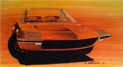 1971 Ferrari 3Z Spider (Zagato)