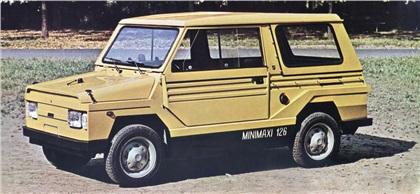 1973 Fiat 126 Minimaxi (Moretti)