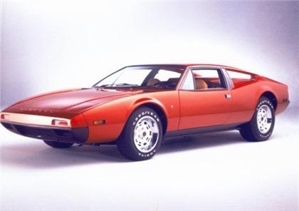 1973 DeTomaso Pantera II/Montella (Ghia)