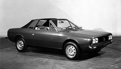 1974 Lancia Beta Spider (Pininfarina)