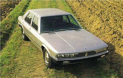 1974 Maserati Quattroporte II (Bertone)
