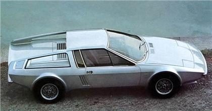 1974 Audi 100S Coupe Speciale (Frua)