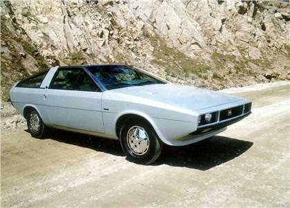 1974 Hyundai Pony Coupe (ItalDesign)