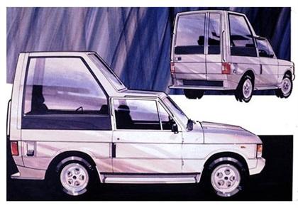 1982 Land Rover Range Rover 'Popemobile' (Ogle)
