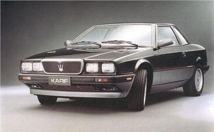 1988 Maserati Karif (Zagato) - Studios