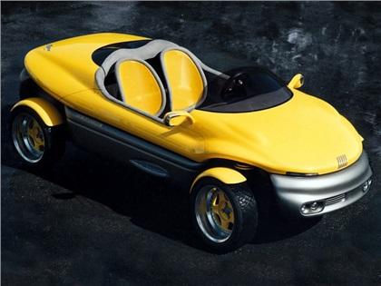 1992 Fiat Cinquecento RUSH (Bertone)