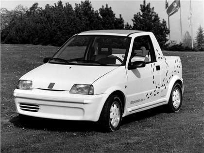 1992 fiat cinquecento pick up pininfarina. Black Bedroom Furniture Sets. Home Design Ideas