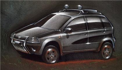 1994 Fiat Punto 4x4 TL (Giannini)