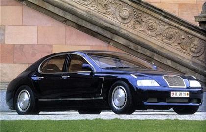 1999 Bugatti EB 218 (ItalDesign)