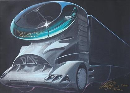 2001 DAF Aero 3000 Truck (Colani)
