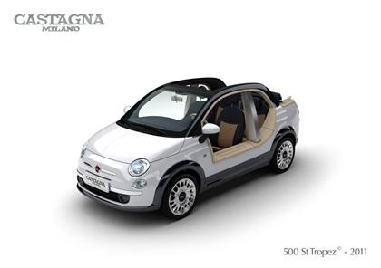 2011 Fiat 500 St. Tropez (Castagna)