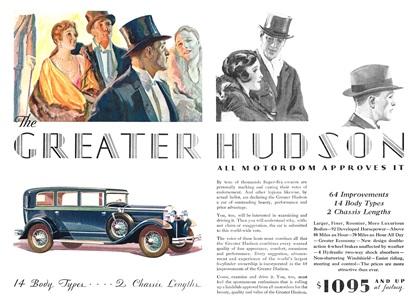 Hudson Advertising Art by Karl Godwin (1929)