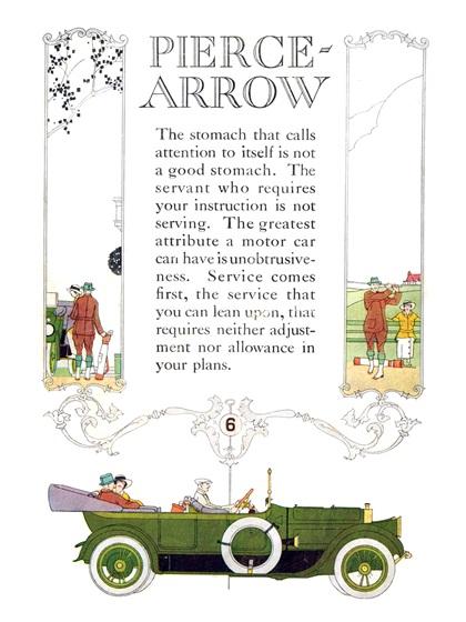 Pierce-Arrow Advertising Campaign (1914–1915)