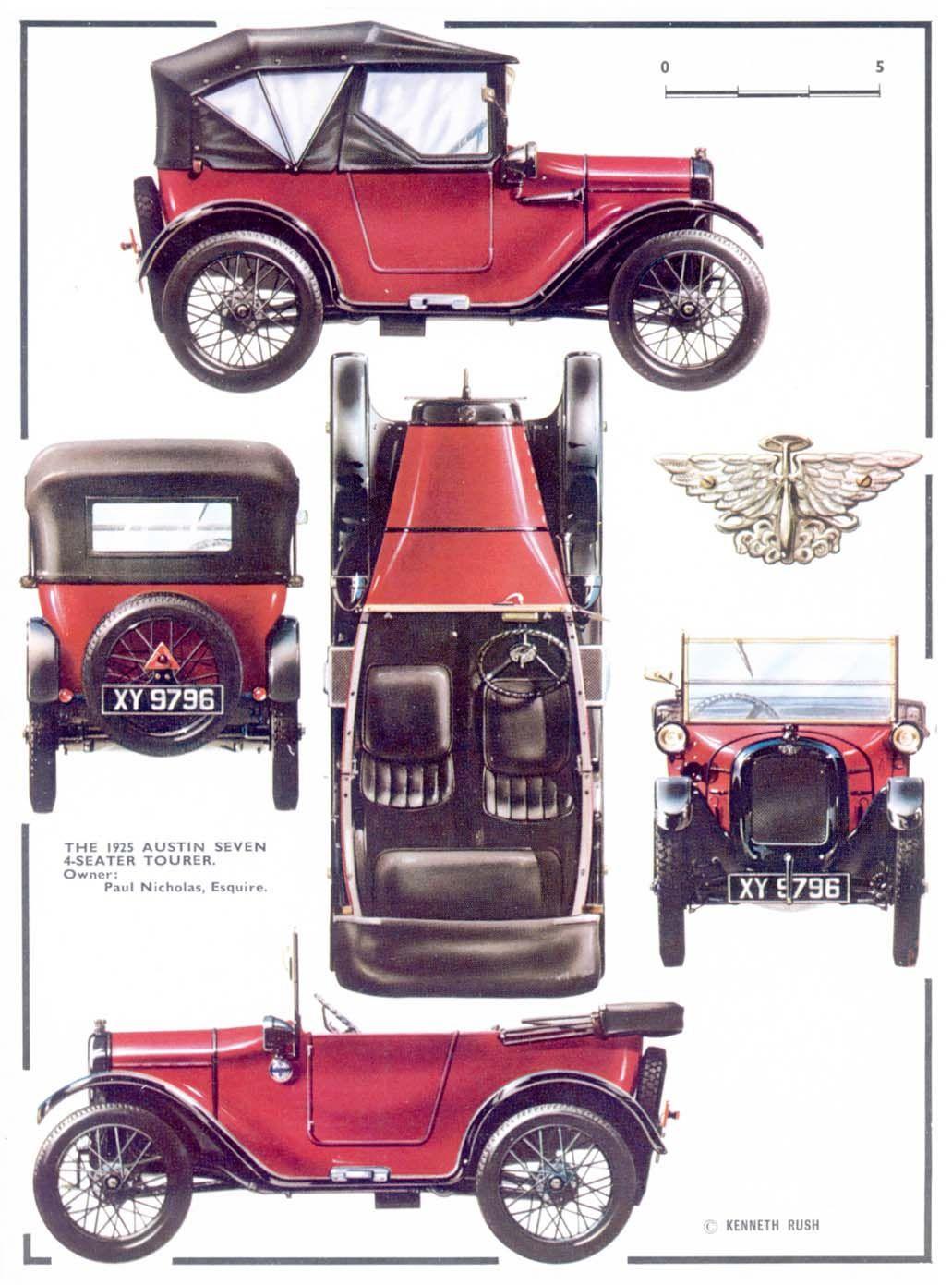 Austin Seven 4-Seater Tourer,