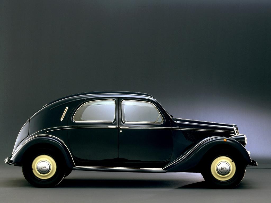 1937 Lancia Aprilia - Milestones