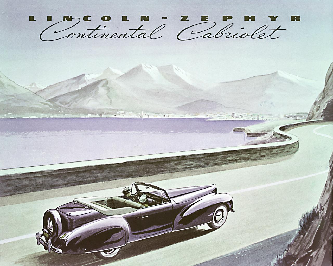 1940 Lincoln Continental Mark I Milestones