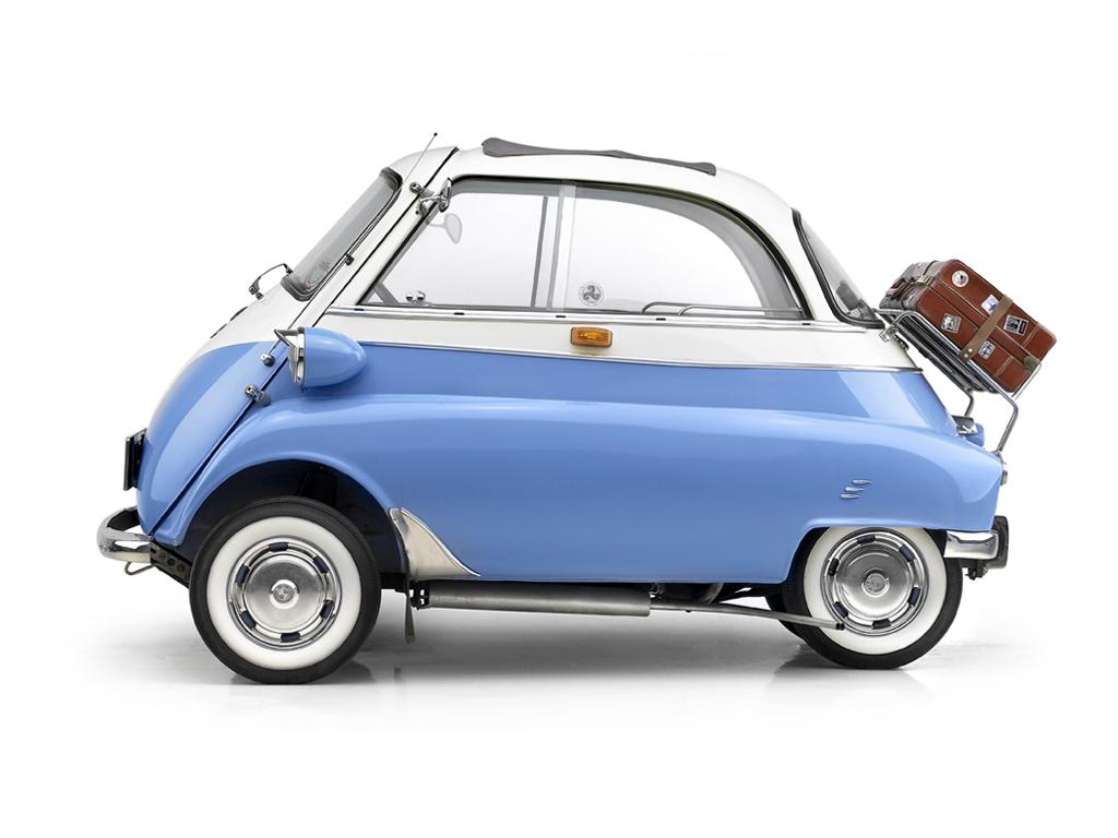 1956 Bmw Isetta Milestones