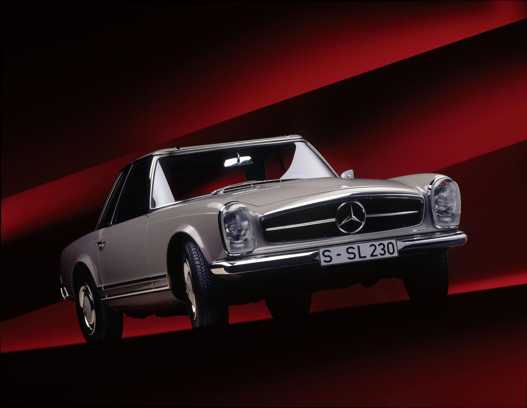 1963 mercedes benz 230sl pagoda milestones for Mercedes benz 230 sl