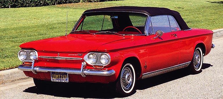 Chevrolet Corvair Monza Spyder 1963