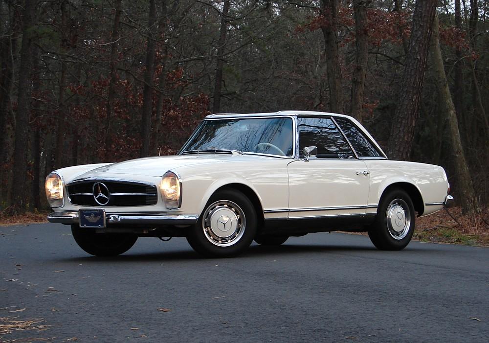 1963 mercedes benz 230sl pagoda milestones for Mercedes benz 230sl