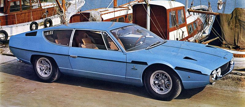 1968 Lamborghini Espada Bertone Milestones