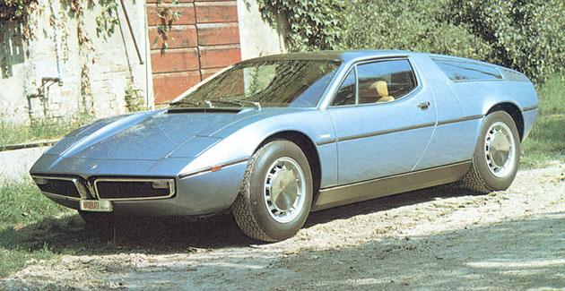 1971 Maserati Bora Meilensteine