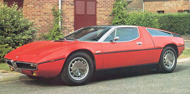 1971 Maserati Bora - Milestones