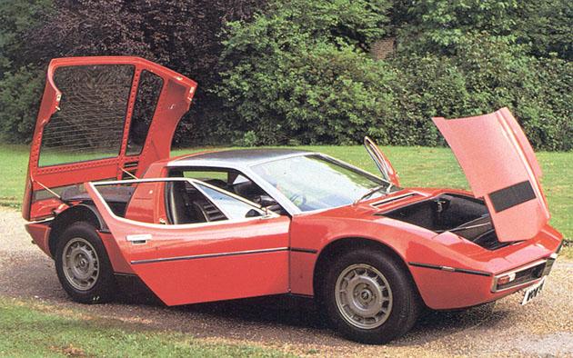 1971 Maserati Bora - Meilensteine