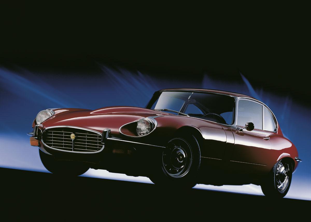 Jaguar E-Type V12 Coupe, 1971-75 - Photography by René Staud