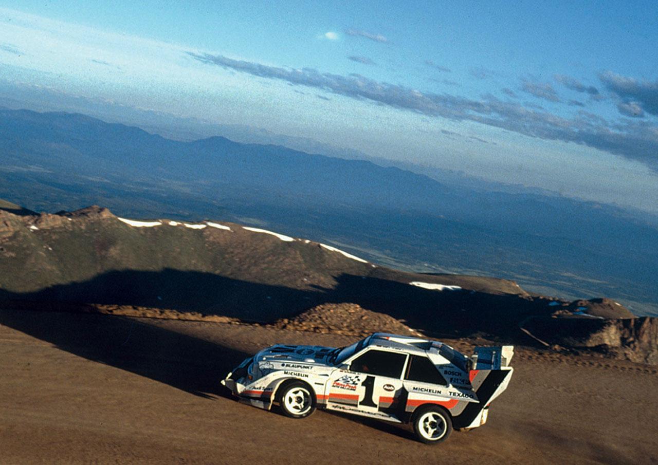 1980 Audi Quattro - Milestones