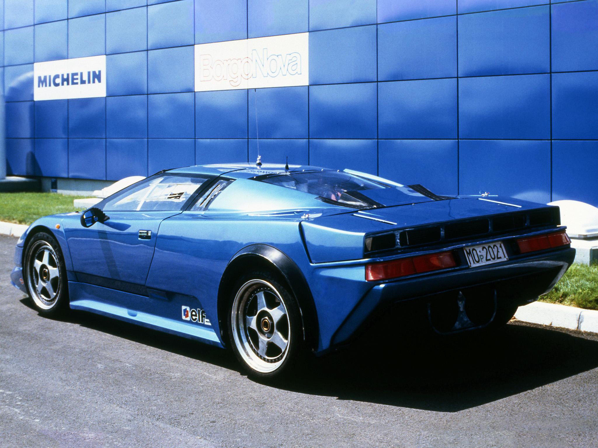 Bugatti EB 110 Prototype, 1990